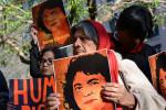 Proteskundgebung nach dem Tod Cáceres (Quelle: flickr.com/photos/cidh/)