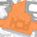 Sicherheitsbereich vom 8. - 12. Juni (Quelle: Basisdaten des Amtes für Geodaten und Kataster)