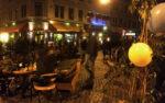 Besetzung einer Kreuzung in der Äußeren Neustadt (Quelle: twitter.com/jackpotblume)