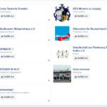 Screenshot aus dem Profil der Organisatorin (Quelle: Facebook)