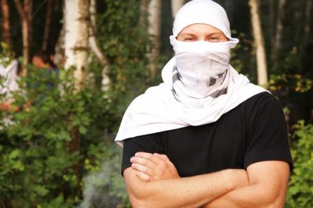 Rechte Sicherheitsleute griffen friedliche Demonstrant_innen an (Quelle: http://wisegizmo.livejournal.com)