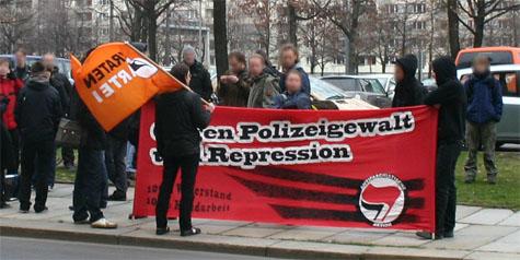 Kundgebung für Presse- und Meinungsfreiheit